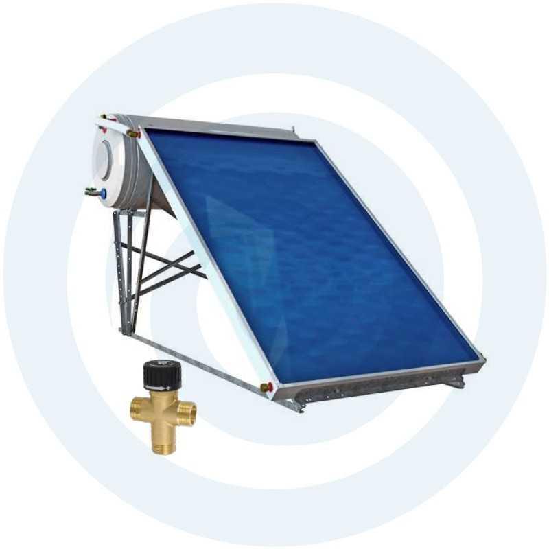 SUPERKIT 160L BAIXO PERFIL- Painel Solar Termossifão - SOLIUS