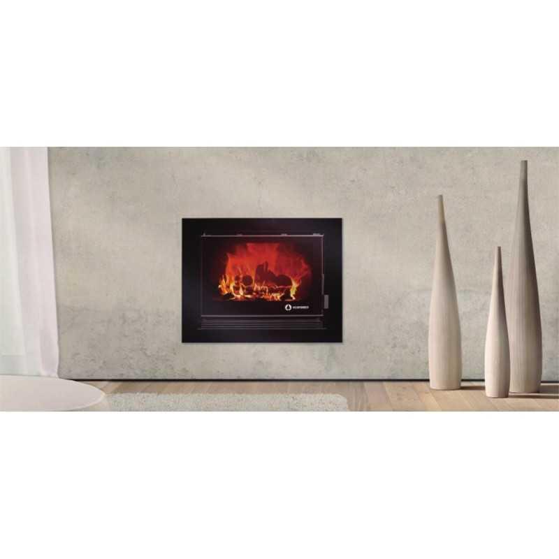 Ecoglass 90 - 14KW - Recuperador de calor - ECOFOREST