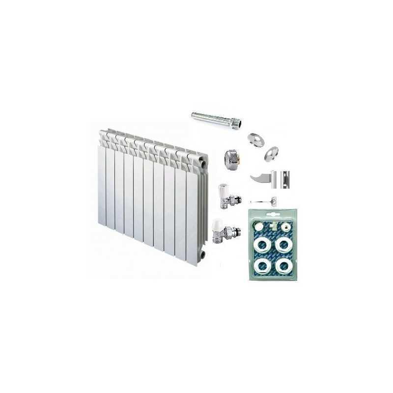 Kit 140 Elementos radiador PROTEU - Comando manual