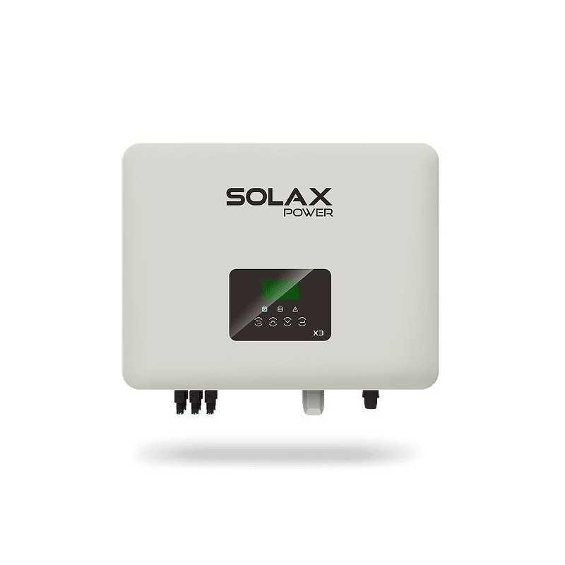 SOLAX X3 PRO 10.0P - Inversor auto consumo - SOLAX POWER