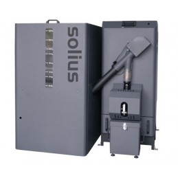 AUTOPELLETS LCD 25KW - Caldeira a Pellets - SOLIUS