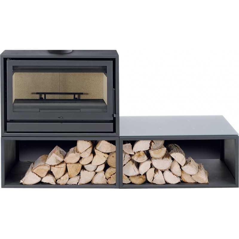 BACK BOX BASIC 11KW - Salamandra ventilada - SOLZAIMA