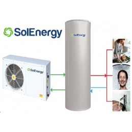SPLIT 200 - Bomba Calor AQS - SOLENERGY