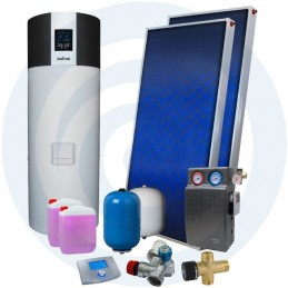 ECOTANK SUPER 300L + SUPERSOL - Kit Bomba Calor + Solar - SOLIUS