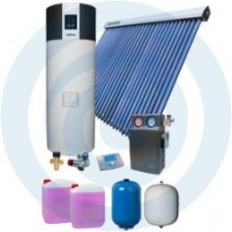 ECOTANK SUPER 300L + TUBOSOL - Kit Bomba Calor + Solar - SOLIUS