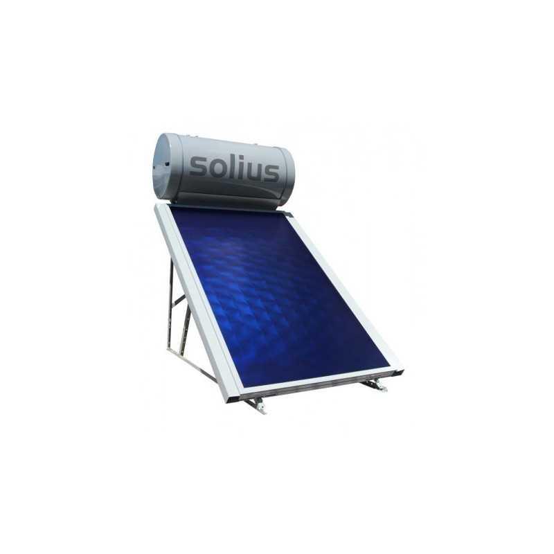 INOXKIT 200L - Painel Solar Termossifão - SOLIUS