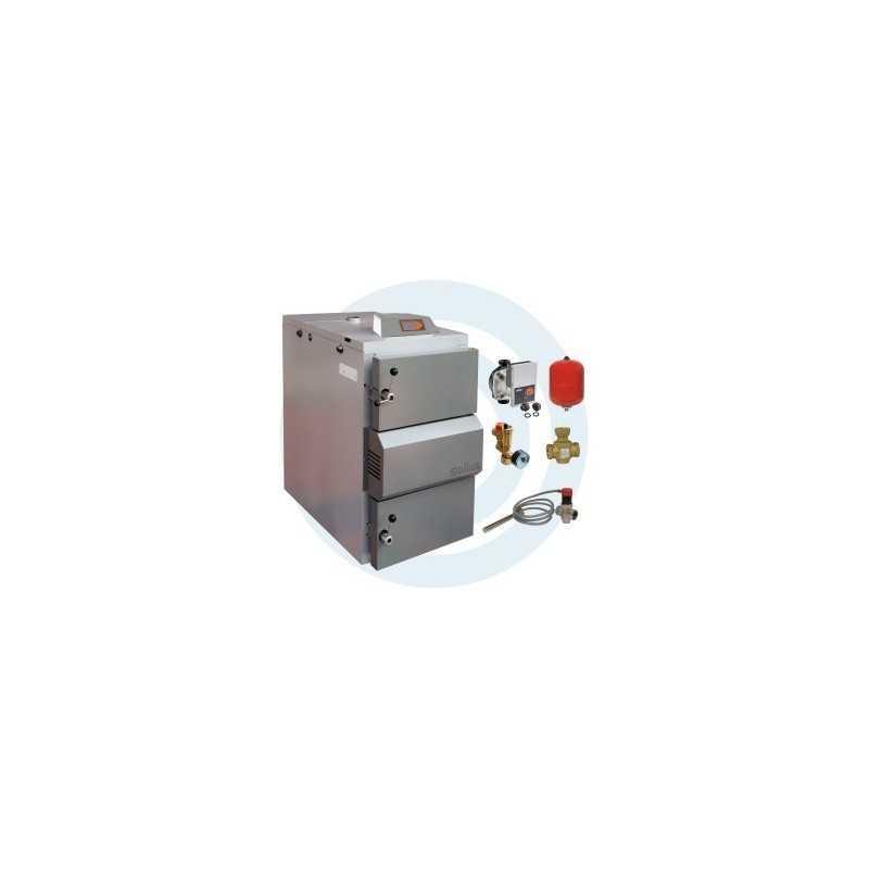 ECOMAX 25KW com acessórios - Caldeira a Lenha Chama Invertida - SOLIUS